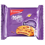 Cookie Milka Sensation - Format pocket 52 g