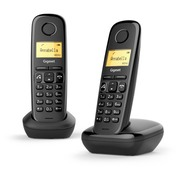 Telephone Siemens Gigaset A270 Duo - black