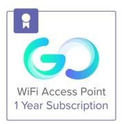 Cisco Meraki Go - licence d'abonnement (1 an) + 1 Year Hardware Warranty - 1 borne d'accès