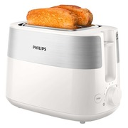 Philips Daily Collection HD2515 - Toaster - weiß