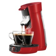 Philips Senseo Viva Café HD6564 - coffee machine - 1 bar - fire red