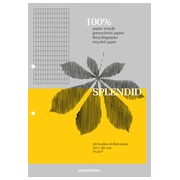Notepad Splendid recycled paper A4 210 x 297 mm 4 x 8 100 sheets
