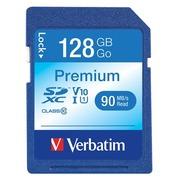 Verbatim Premium - Flash-Speicherkarte - 128 GB - SDXC UHS-I