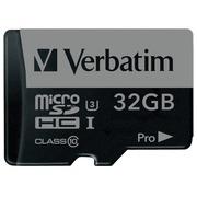 Verbatim PRO - flashgeheugenkaart - 32 GB - microSDHC UHS-I