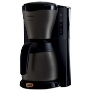 Philips Café Gaia HD7547 - coffee maker - titanium