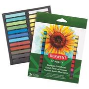 Derwent pastels douce Academy , blister de 8 stuks en couleurs assorties