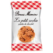 Small cookies with chocolate chips Bonne Maman - box of 280 bags