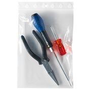 Durchsichtiger Beutel mit Kunststoff-Reißverschluss 160 x 220 mm 60 Mikron - Schachtel von 1000