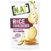 Box with Na! Rice crackers salt and vinegar - box of 70 g
