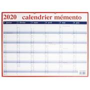 Calendrier Mémento 2020 français