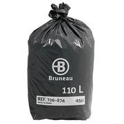 Vuilniszak 110 liter Bruneau - pak van 200