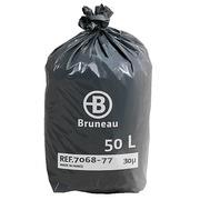 Sac poubelle 50 litres Bruneau - Colis de 200