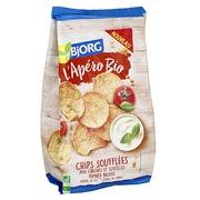 Chips tomato and basilicum Bio Bjorg - bag of 80 g