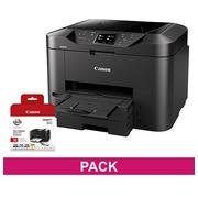 Printer Canon Maxify MB2750 +  pack 4 cartridges PGI1500XL