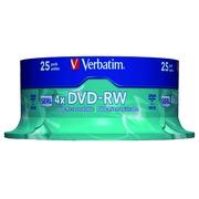 Verbatim - DVD-RW x 25 - 4.7 GB - storage media
