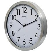 Horloge murale MAULmove Ø40cm aluminium/blanc