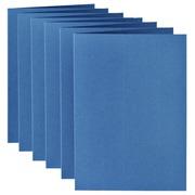 Carte de correspondance Papicolor double 105x148mm bleu roi