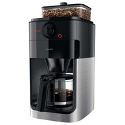 Philips Grind & Brew HD7765 - coffee maker - stainless steel/black