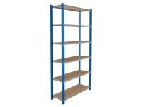 Set of 6 shelves width 100 cm Isorel
