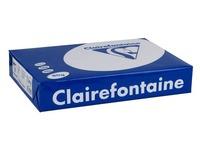 Papier A4 weiß 80 g Clairefontaine Clairalfa perforiert 2 Löcher - Riemen von 500 Blatt