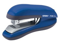 Stapler Rapid Flat Clinch F30 blue capacity 30 sheets