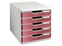 Schubladenbox mit 5 Schubladen