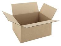 American box, standard undulation, P 400 x L 300 x H 200 mm