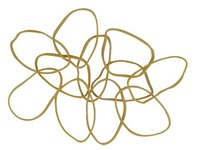 Rubber bands 60 mm - Bag of 1 kg