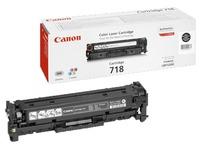 Toner laser zwart Canon 718
