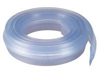 Standaard beschermingsgoot 3 meter transparant