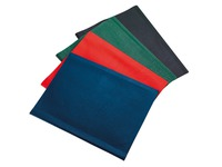 Document holders Bruneau PVC opaque A4 10 sleeves assorted colours