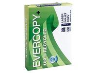 Recyclingpapier A4 weiß 80 g Evercopy - Riemen von 500 Blatt