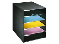 Filing box, 5 compartments
