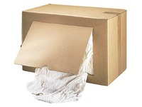 Chiffon textile coton extra-fin blanc optique - Boîte de 10 kg