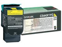 Toner Lexmark C544X1 geel