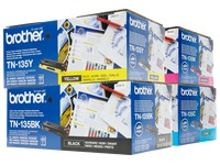 Brother TN135 Pack toner pour imprimante laser
