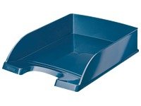 Mail basket Leitz Wow blue metalized