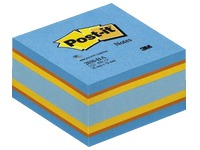 Block cube Relax Intense Post-it 76 x 76 mm