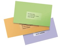 Pak 25 adresetiketten Avery L 7567 199,6 x 289,1 mm voor laserprinter