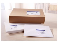 Package of 80 address labels Avery J 8168 white 199,6 x 143,5 mm for inkjet printer