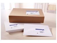Pack 80 Adressetikette Avery J 8168 weiß 199,6 x 143,5 mm Avery für Tintenstrahldrucker