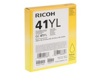 Cartridge Ricoh GC-41 YL geel