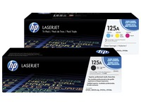 HP 125A, pack 4 toners couleurs