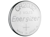 Blister of 2 batteries lithium Energizer CR2032