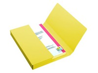 VIP, pack of 50 folders, vivid yellow