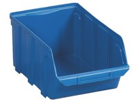 Economic storage crates Viso blue - 10 liters
