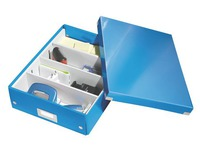 Classification module Leitz Click&Store Wow with partitions blue