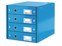 Classification module Leitz Click&Store Wow 4 drawers blue