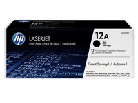 Pack 2 toners HP Q2612AD