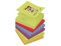Z-Notes couleurs Marrakech Super Sticky Post-it 76 x76 mm - Bloc de 90 feuilles